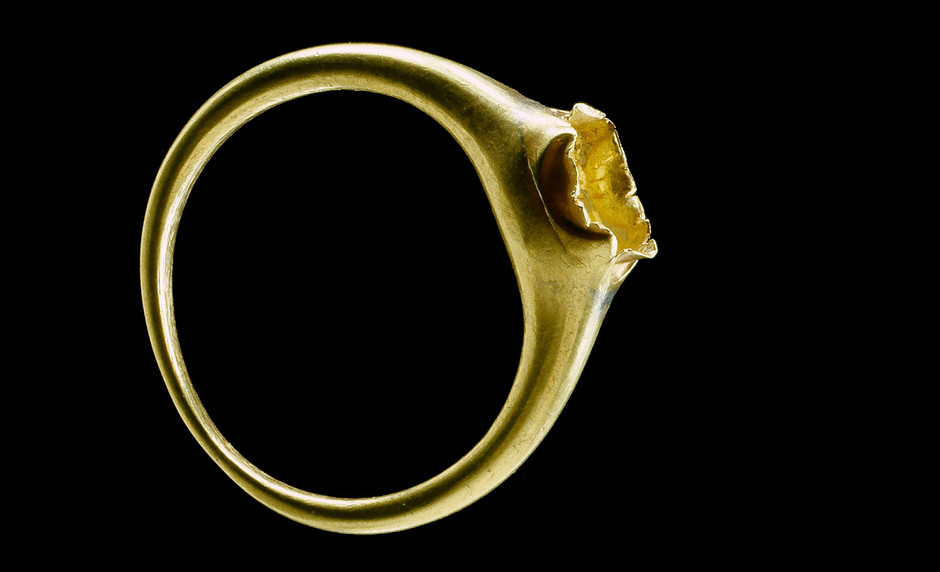 Golden ring at the Luther House in Wittenberg, first half of the 16th century