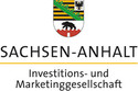 Logo for the company Investment and Marketing Corporation Saxony-Anhalt mbH.