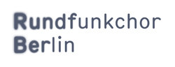 Logo for the Rundfunkchor Berlin.