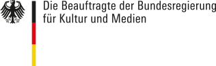 Logo for the German Federal Government Commissioner for Culture and the Media.